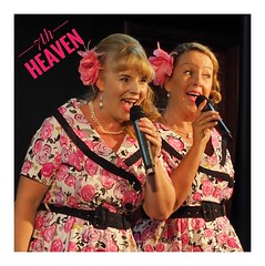 These are a fantastic vocal duo, lovely blend of voices and look great on stage. Lighting was poor but my great Olympus f2.8 12-40mm zoom managed to pull this lovely shot out of the gloom. Perth Australia https://www.facebook.com/7thHeavenvocalduo/ (StevePWA Cantante Photo) Tags: tributegroups tributebands 7thheaven actforhire perthacts bandforhire dj perthperformers perthmusicians perthmusos perthgigs perth performances performers performance theatre stage performanceperformancesperformers boogiewoogie andrewssisters sing singing entertainment acts quartets duos music singers