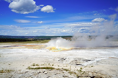 Clepsydra Geyser, Yellowstone NP, USA (Andrey Sulitskiy) Tags: usa yellowstone wyoming