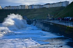Waves over the Noggy (Nanny Bean) Tags: northmarinedrive scarborough northyorkshire waves hightide