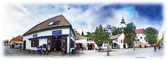Szentendre/ Hungary (Szemeredi Photos/ clevernails) Tags: szentendre hungary village folklore heritage panorama church house shop history memory sky autumn visit walk street