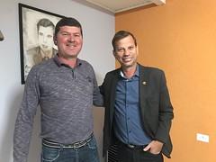 Empresário Jonas e Vereador Mauro Ignácio