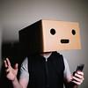 Testing, Testing (BurlapZack) Tags: pentaxk1 pentaxhddfa28105mmf3556eddcwr vscofilm pack01 portrait ledwand yongnuoyn360 lightstand remote trigger app homestudio box boxhead face blankface emoji silly goofin selfportrait selfie wait what huh stare