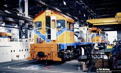 2867 J103 L274 Midland Workshops 14 March 1982 (RailWA) Tags: railwa philmelling westrail 1982 j103 l274 midland workshops