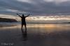 Buenos dias estamos jueves!!!!💪💪💪 (ibetcid) Tags: sunset sunsets atardecer zumaia flysch contraluz euskalherria europa basquecountry paisvasco paisaje nubes mar reflejo soledad sol playa siluetas colores