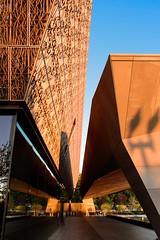 nmaahc #2 (Der Berzerker) Tags: 2017 africanamericanhistorymuseum d750 nikon smithsonian washingtondc sunset architecture