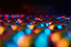 Ball Bearings (RobMacPhotography) Tags: canberra act australia lightbox ball bearings sphere globe round bokeh lights dof abstract sony a6000 rob mac colours colourful