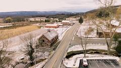 Glenwood NJ (- Anthony Papa -) Tags: dji phantom 4 country new jersey anthony papa drone winter snow barn mountains sky