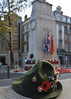 camb5 (photospencer) Tags: rtr royaltankregiment centenary battleofcambrai cenotaph whitehall hat badges trilby dadshat