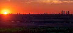 Red-sunset (invesado) Tags: redsunsetskylineparacuellosmadridsunnikond750tamron 70300
