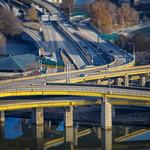 Fort Pitt Bridge into Pittsburgh thumbnail