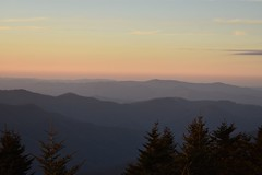 Evening Sky from Mt. Mitchell. The highest point east of the Mississippi River. 6,683 Ft. (Hollingsworth18) Tags:
