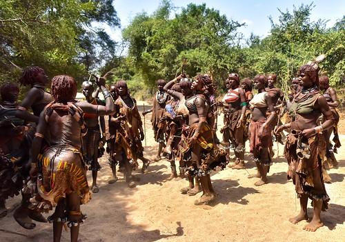 Hamar Women Dance