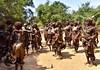 Hamar Women Dance (Rod Waddington) Tags: africa african afrique afrika äthiopien ethiopia ethiopian ethnic etiopia ethnicity ethiopie etiopian omo omovalley outdoor river bed hamer hamar women ceremony ceremonial dance group