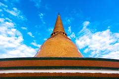 Phra Pathom Chedi, Nakhon Pathom (Coggleswort00) Tags: thailand 2017 nakhon pathom phra phrapathom chedi hdr nakhonpathom