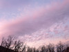 pink cloudy sunset at home (maryannenelson) Tags: colorado durango landscape clouds