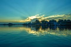 EmptyName 88 (LHansos) Tags: india kashmir srinagar sony alpha dal lake sunset clouds