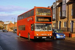 Mulleys at Bury st Edmunds (Chris Baines) Tags: mulleys alexander alx400 bodied volvo b7tl mui 7924 bury st edmunds
