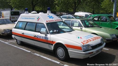 ambulance citroen cx