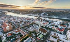 Kaunas old town | Winter | Aerial #339/365