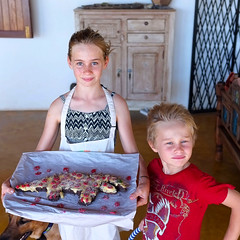 Baking a cake (jay_kilifi) Tags: cake cooking kids happy smile smiles growingup proud acheivement tray fresh baked oven cookery warm icing birthday