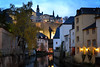 RIVER II - Luxembourg (-MDCe) Tags: grund luxembourg ville city border frontière automne fall colors nightphotography night nikon europe castle fort river alzette saturday blue rampart rempart oldtown basse villebasse trip roadtrip trees cave stone oldbuilding oldcastle history season