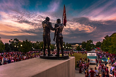 Walk of Champions (Redbird310) Tags: bryantdenny stadium sec alabama crimsontide football college statue