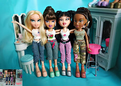 Bratz TV Series Dolls (Luxtoygraphy) Tags: bratz bratzdoll bratzseries bratzdolls bratzdollz bratzfunkout bratzthoughtz bratztv bratztvshow bratzflauntit bratztreasures bratzxpressit boo bratzprincess bratzprincessyasmin bunny bunnyboo cloe cat cool princess princessyasmin funkoutcloe prettyprincess pretty treasures mgae angel jade xpressit funkoutjade passionforfashion thoughtz it out kat flaunt flauntit funkout funkoutsasha funkoutyasmin koolkat yasmin funk fashion passion4fashion doll dolls kool sasha mga rockangelz rock angelz movie moviedolls moviedoll