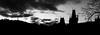Silhouette Prague (Hans Westerink) Tags: praag hlavníměstopraha tsjechië cz praha prague silhouet silhouette panorama sky medieval charles bridge karelsbrug vltava petrin hradčany sintvitus most karlůvmost skyline