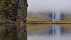Im Nebel (flori schilcher) Tags: island skogafoss schilcher nebel wasserfall spiegelung iceland