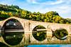 20171028-MC-Tuscany-DSC_8873 (Tracy Russo) Tags: tuscany river ponte bridge devilsbridge pontedellamaddalena serchioriver viafrancigena