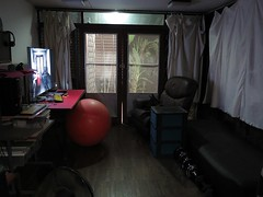 my cave (the foreign photographer - ฝรั่งถ่) Tags: cave living room chair tv sofa light our house bangkhen bangkok thailand canon