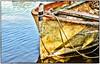 the old boat ... (miriam ulivi) Tags: mirriamulivi nikond3200 italia toscana torredellago lagodimassaciuccoli barca boat autunno autumn acqua water reflection riflessi