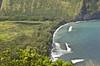Waipi'o Black Sand Beach (EnviroTrekker) Tags: hawaii big island winter rock waipio black sand beach valley lookout pacific ocean