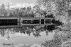 Asbury Mill & Reflection (Bruce Livingston) Tags: asbury nj newjersey reflections bw monochrome mill asburymill