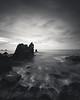 Corona Del Mar B&W (RyanLunaPhotography) Tags: cdm california canon coronadelmar newportbeach ocean orangecounty socal southerncalifornia sunrise beach landscape seascape
