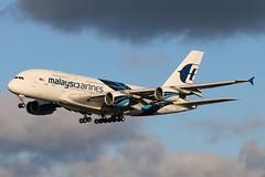 9M-MNC - LHR (B747GAL) Tags: malaysia airlines airbus a380841 lhr heathrow egll 9mmnc