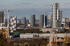 The view from Greenwich Park (Gary Kinsman) Tags: skyline northgreenwich se10 london docklands canoneos5dmarkii canon5dmkii construction architecture highrise tower structure development urban newtopographics topographics canon70300mm telephoto zoom compression repetitive cranes condo condominium condos condominiums greenwichpark thewaterman emiratesairline cablecar hoolatowers 2017 greenwich
