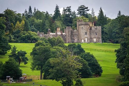 _WCB0150 Loch Lomond castle- Cameron House