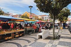 Praça da República (Caldas da Rainha, Portugal) (Gail at Large | Image Legacy) Tags: 2017 caldasdarainha portugal praçadarepublica feira gailatlargecom market