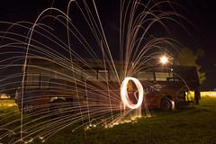 Jugando con fuego! 📷🔥 Larga exposición con lana de acero! (pablofelcaro1) Tags: nikon nikonphotographers nikontop nikond7100 d7100 photography longexposure nocturna lights dzoom blogdelfotógrafo miradzoom nikkor lanadeacero