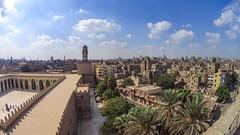 Al Hakin Mosque - Vista do Minarete (Airton Morassi) Tags: cairo egito egypt city view minaret mosque mesquita islamic