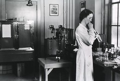 Dr. Adah Elizabeth Verder mouth pipetting (National Institutes of Health (NIH)) Tags: nihimagegallery niaid pipetting bacteriology mycology historicalimage