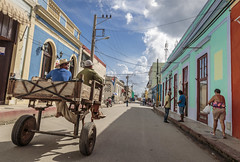CUBA2017_107 (Dylon87) Tags: daytrip friends family memories vacation fun great gibara fishing town getaway bed breakfast travel holguin cuba street road walk people side horse buggy carriage clouds cloud stroll flag colors colour photo pic photographer photography teamcanon canon shotoncanon canoncanada