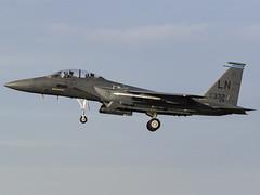 United States Air Force   McDonnell Douglas F-15E Strike Eagle   91-0332 (MTV Aviation Photography (FlyingAnts)) Tags: united states air force mcdonnell douglas f15e strike eagle 910332 unitedstatesairforce mcdonnelldouglasf15estrikeeagle usaf usafe raflakenheath lakenheath egul canon canon7d canon7dmkii