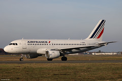 Airbus A319 Air France F-GRXH (Arthur CHI YEN) Tags: airbus a319 air france fgrxh lfbd bod bordeaux mérignac