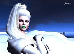 Nights in White Satin (2 of 9) (Jem Sternhall) Tags: secondlife music lyrics moodyblues nightsinwhitesatin fashion junbug letituier white fur gloves snow winter outdoors