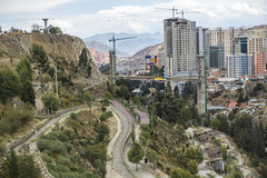 From Mirador Lakaikota (Ready.Aim.Fire) Tags: bolivia bolivien 2017 sony dsc rx 100 m3 el alto la paz funicular cable car mirador panoramic sopocachi