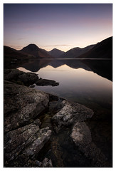 cracks. (akh1981) Tags: wastwater calm landscape lakedistrict lake longexposure cumbria sunrise wideangle water walking outdoors manfrotto mountains nikon nisi