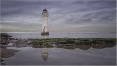 Perch Rock Lighthouse (Leeds Lass1) Tags: lighthouse perchrock newbrighton merseyside reflection