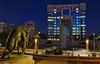 Hôtel de la région Montpellier (Marc ALMECIJA) Tags: montpellier outside outdoor nuit night pose posing exposure exposition longue long architecture urban urbain bleu blue sony rx10m3 statue